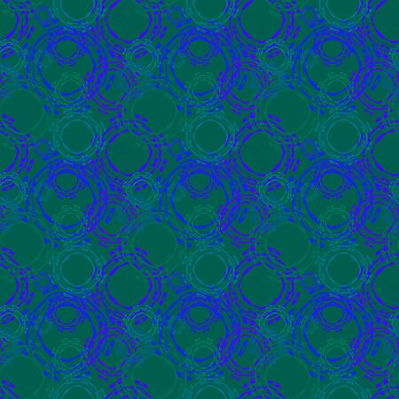 Seamless background pattern with various colored circles. Reklamní fotografie - 124876611