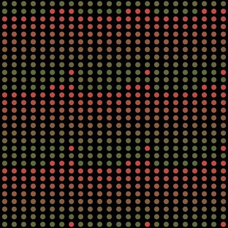 Seamless abstract pattern background with a variety of colored circles. Reklamní fotografie - 124876630
