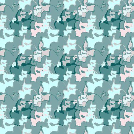 Seamless background pattern with various colored spots. Reklamní fotografie - 124876849