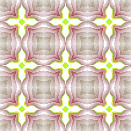 Seamless pattern background with multi-colored wavy lines.