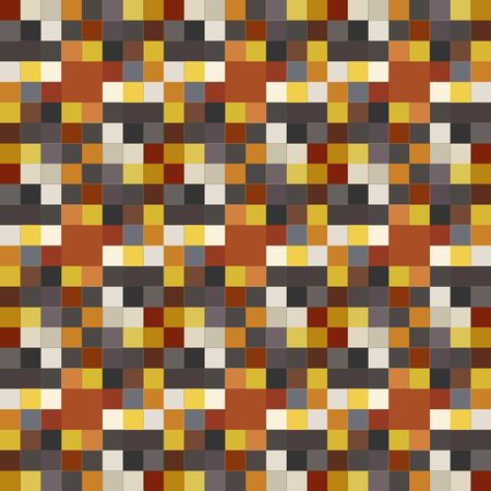Seamless pattern background from a variety of multicolored squares. Reklamní fotografie - 124876858