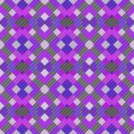 Seamless pattern background from a variety of multicolored squares. Reklamní fotografie - 124877053