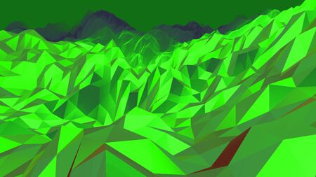 Background from polygons. With shadows and light. Banque d'images
