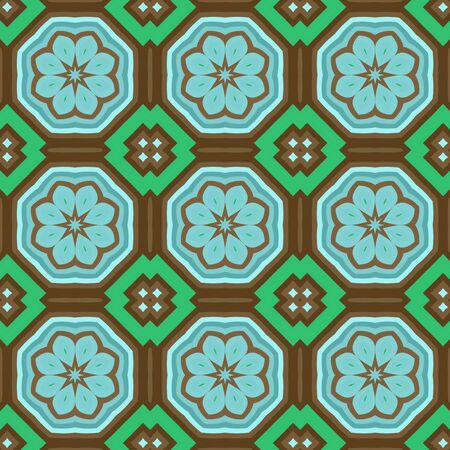 Seamless background pattern with a variety of multicolored lines. Imagens