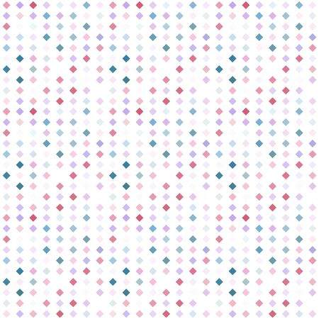 Abstract seamless pattern background with multicolored various rhombuses.