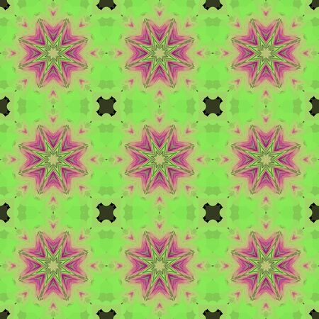 Seamless background pattern with a variety of multicolored lines. Zdjęcie Seryjne