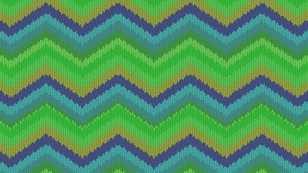 Background with a knitted texture, imitation of wool. Multicolored diverse lines. Stok Fotoğraf