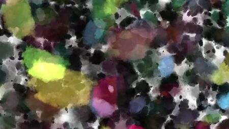 Background with paint. Divorces and drops. Periwinkles. Banque d'images - 130758116