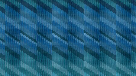 Background with a knitted texture, imitation of wool. Multicolored diverse lines. 版權商用圖片