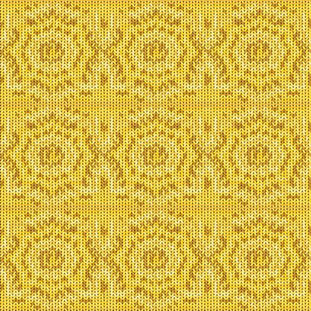 Seamless background with a knitted texture, imitation of wool. A variety of different patterns. 版權商用圖片