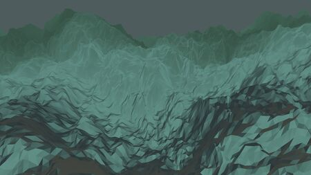 Background from polygons. With shadows and light. 写真素材