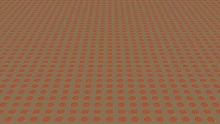 Colored different circles. Background of different sizes of circles of different shades of the same color. Archivio Fotografico - 131355377