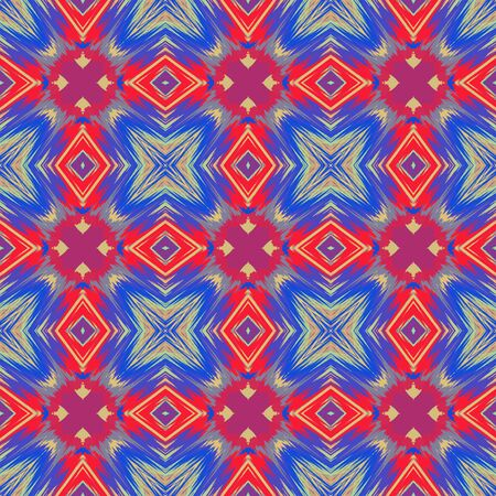 Seamless background pattern with a variety of multicolored lines. Banco de Imagens