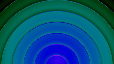 Background with circles in a paper style. With a variety of colors.