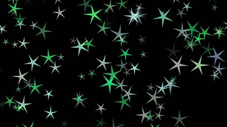 Colorful different stars. Background from different sizes of stars of different shades of the same color. Stock Photo - 132553625