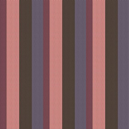 Seamless background with a knitted texture, imitation of wool. Multicolored diverse lines.