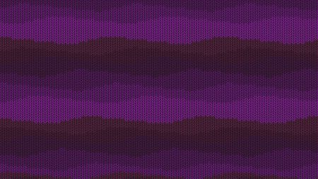 Background with a knitted texture, imitation of wool. Multicolored diverse lines. Banco de Imagens