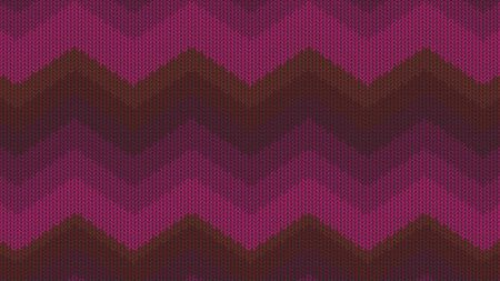 Background with a knitted texture, imitation of wool. Multicolored diverse lines. 스톡 콘텐츠