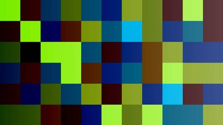 Background of squares. Different shades. With color and light transitions. Background for design. Stock fotó - 134952183