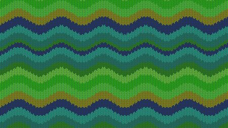 Background with a knitted texture, imitation of wool. Multicolored diverse lines. Zdjęcie Seryjne