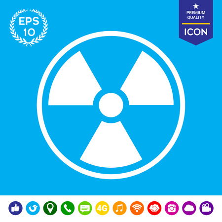 ionizing: Ionizing radiation icon