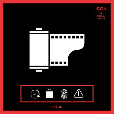 Photographic film cassette icon