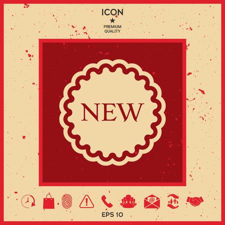 New offer icon Illustration