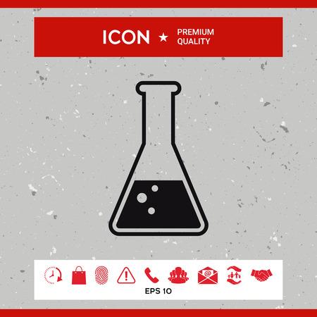 pharmacy symbol: Test-tube symbol Bubbles Illustration