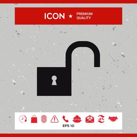 private security: Unlock icon