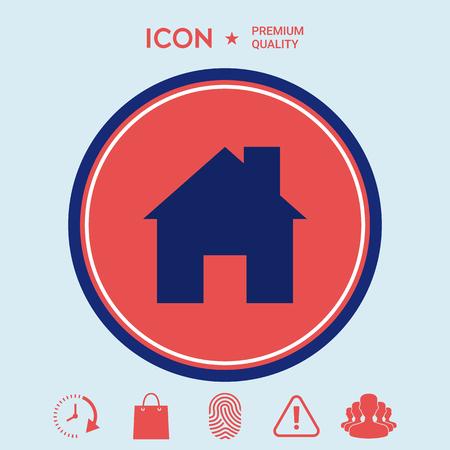 Home icon Ilustrace
