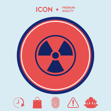 uranium: Ionizing radiation icon
