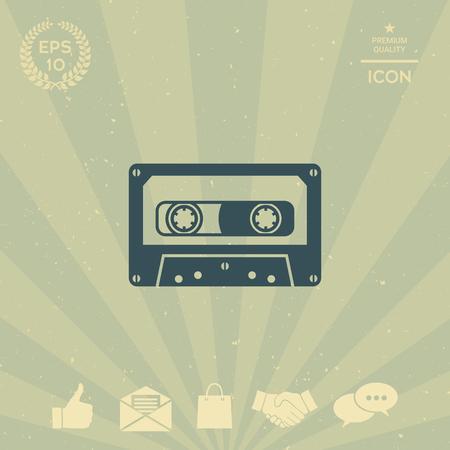 multimedia icons: Audio Cassette icon