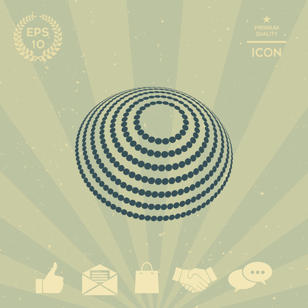 business: Logo design - Earth symbol