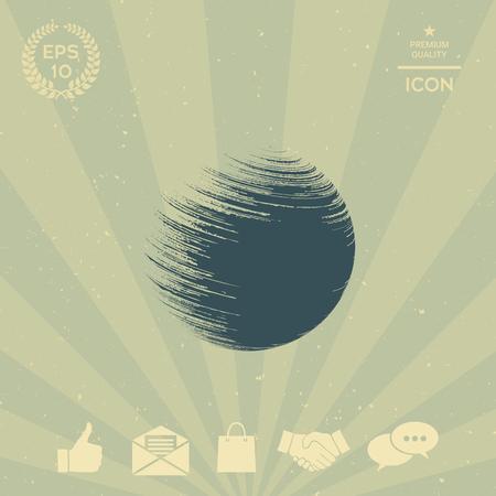 business: Logo Earth symbol