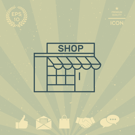 business: Store icon