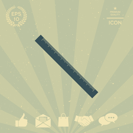 schemes: The long ruler icon