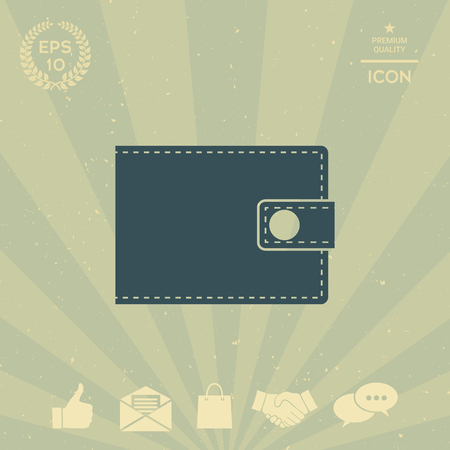 business: Wallet icon