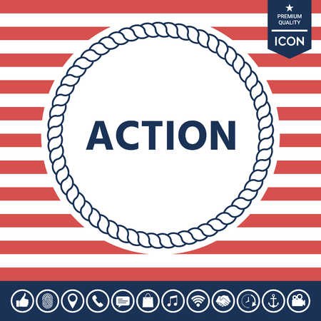 business: Action button