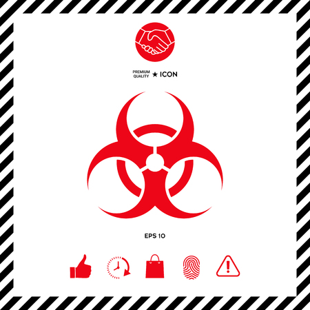 Biological hazard Ilustrace