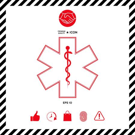 Medical symbol Star of Life