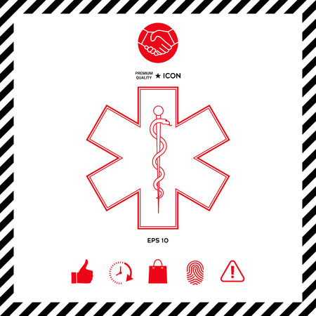 Medical symbol Star of Life