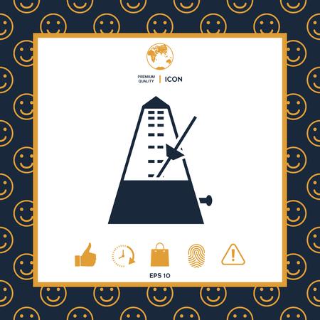 Metronome icon