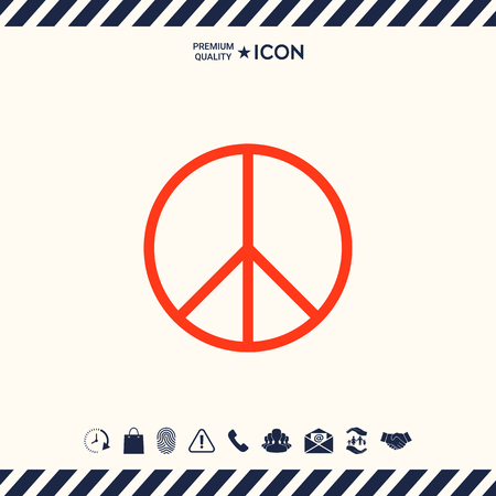 Peace sign Illustration