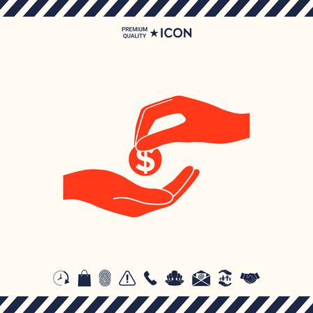 generosa: Receiving money icon