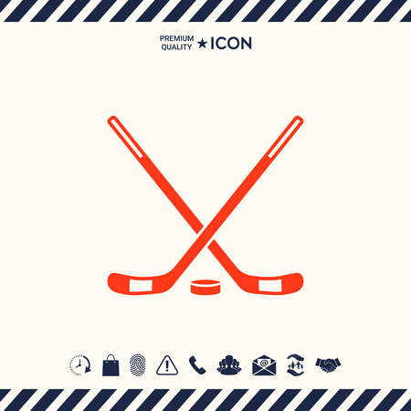 Hockey pictogram