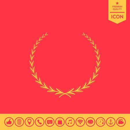Laurel wreath - symbol