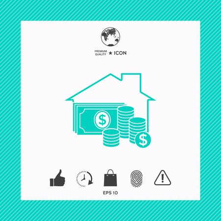 주택 보험 아이콘