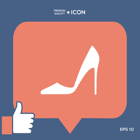Elegant womens shoe.