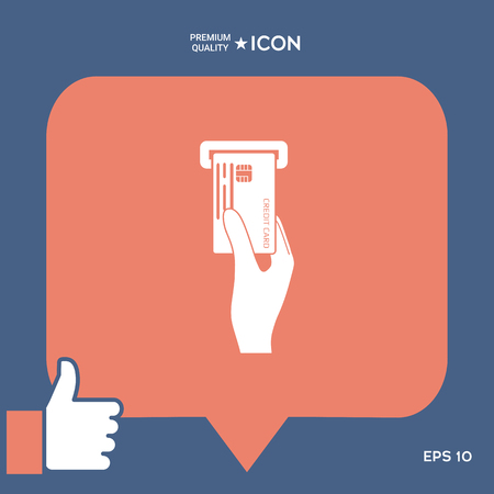 Inserting credit card icon
