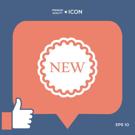 New offer icon Ilustracja